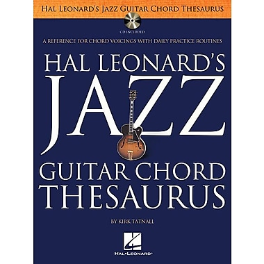 Hal Leonard's Jazz Guitar Chord Thesaurus [With CD (Audio)]