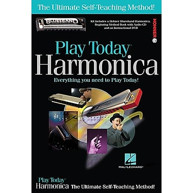 Play Harmonica Today! Complete Kit: Includes Everything You Need to Play Today!