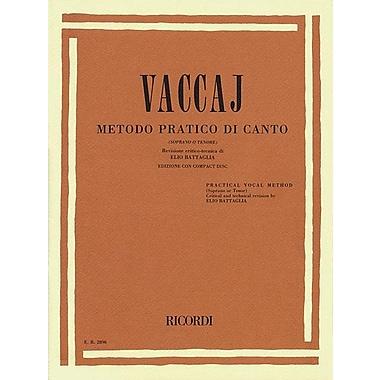 Practical Vocal Method (Vaccai) - High Voice: Soprano/Tenor - Book/CD