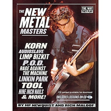 The New Metal Masters [With CD]