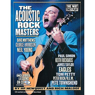 The Acoustic Rock Masters [With CD]