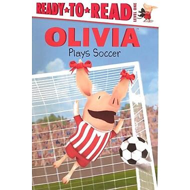 Olivia Plays Soccer