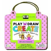 Greenstart Play, Draw, Create Princess: Reusable Drawing & Magnet Kit