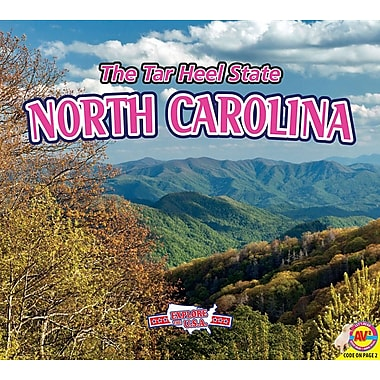 North Carolina, with Code: The Tar Heel State
