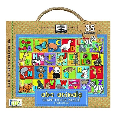 Green Start ABC Animals Giant Floor Puzzle