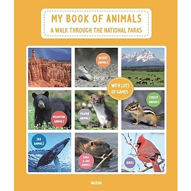 My Book of Animals: A Walk Through the National Parks