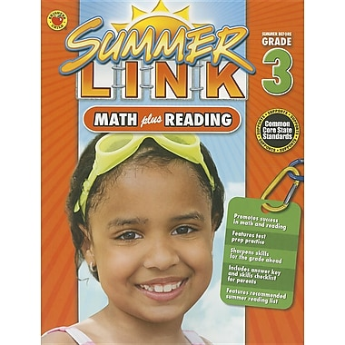 Summer Link: Math Plus Reading, Summer Before Grade 3