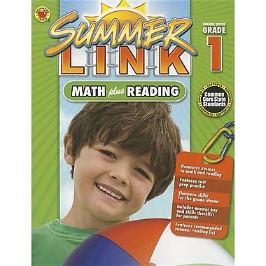 Summer Link: Math Plus Reading, Summer Before Grade 1