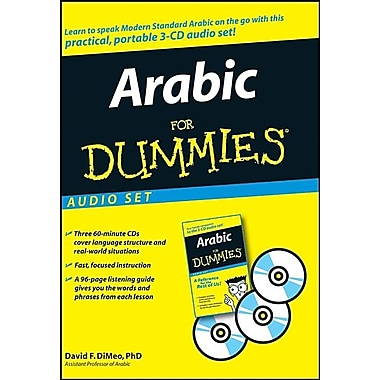 Arabic for Dummies Audio Set [With 96-Page Listening Guide]