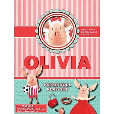 Olivia Paper Doll Play Set