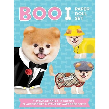 Boo Paper Doll Set