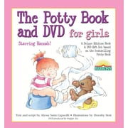 The Potty Book and DVD for Girls Starring Hannah! Gift Set [With DVD]