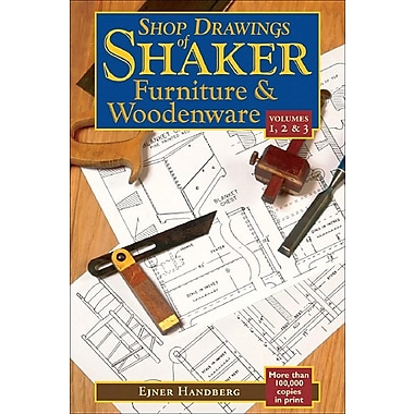 Shop Drawings of Shaker Furniture & Woodenware, Volumes 1,2, & 3