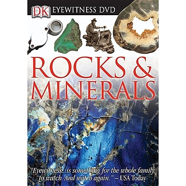 Eyewitness DVD: Rock and Mineral
