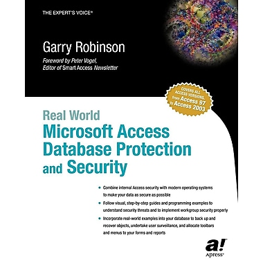 Real World Microsoft Access Database Protection and Security
