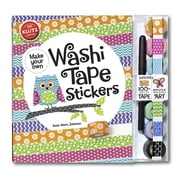 Make Your Own Washi Tape Stickers: Shape This Tape Into Crazy Cute Stickers