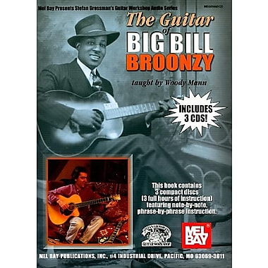 The Guitar of Big Bill Broonzy [With 3 CDs]