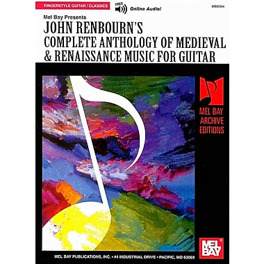 John Renbourn's Complete Anthology of Medieval & Renaissance Music for Guitar