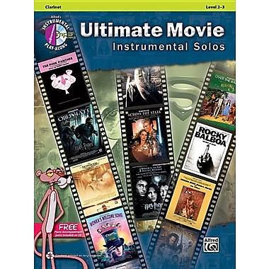 Ultimate Movie Instrumental Solos: Clarinet, Book & CD