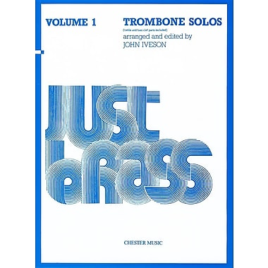 Just Brass Trombone Solos, Volume 1