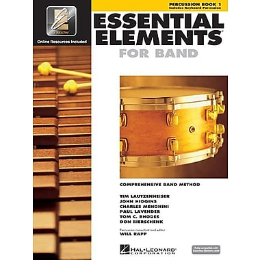 Essential Elements for Band - Book 1 with Eei: Percussion/Keyboard Percussion [With CDROM]