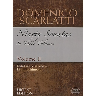 Domenico Scarlatti: Ninety Sonatas in Three Volumes, Volume II