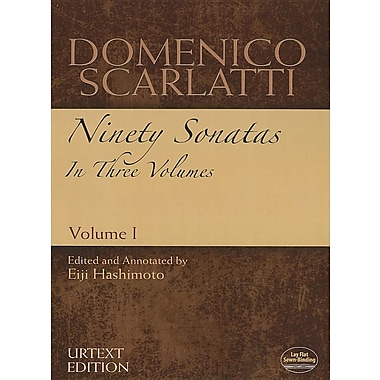 Domenico Scarlatti: Ninety Sonatas in Three Volumes, Volume I