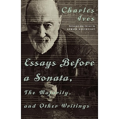 ives essays before a sonata