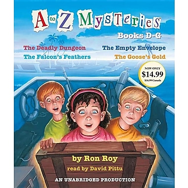 A to Z Mysteries: Books D-G