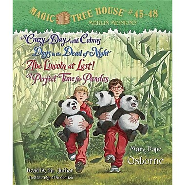 Magic Tree House Collection: Books 45-48