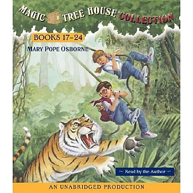 Magic Tree House Collection Books 17-24