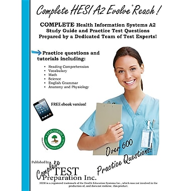 Complete HESI Evolve Reach: HESI Evolve Reach Study Guide with Practice Test Questions