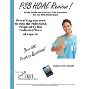 PSB HOAE Review!: Complete Health Occupations Aptitude Test Study Guide and Practice Test Questions