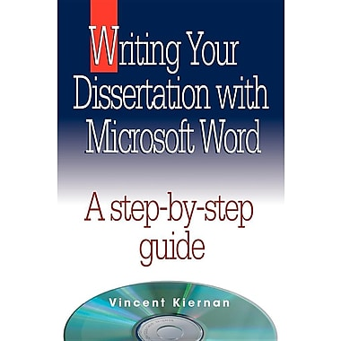 writing your dissertation with microsoft word 2007 Just finishing skimming through writing your dissertation with microsoft word this handy little reference book covers several important topics each.