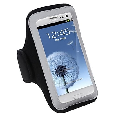 Insten Sport Armband Case For Cell Phones And Smartphones, Black