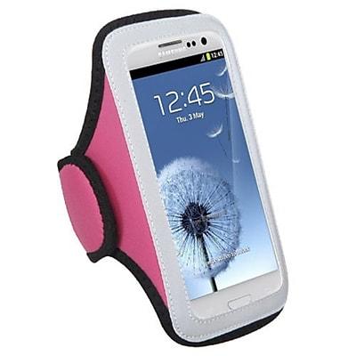 Insten Vertical Pouch Sport Armband, Pink