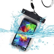 Insten® Universal Waterproof Bag With Lanyard and Armband, T-Clear