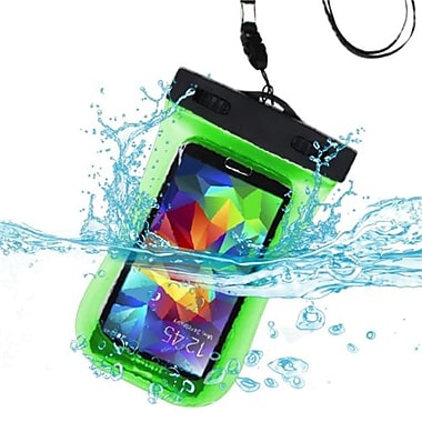 Insten® Universal Waterproof Bag With Lanyard and Armband, Green