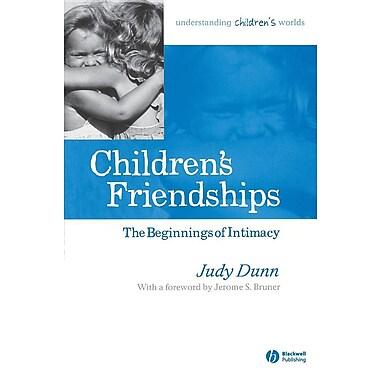 Children's Friendships