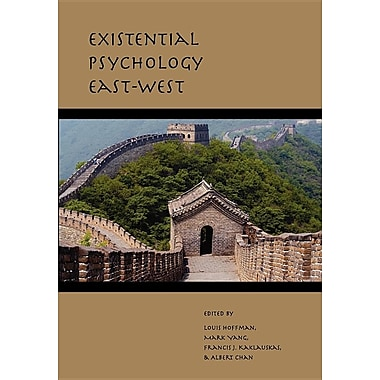 Existential Psychology East-West