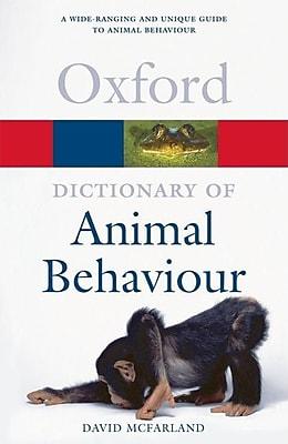 A Dictionary of Animal Behaviour 1314328