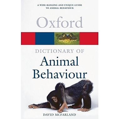 A Dictionary of Animal Behaviour