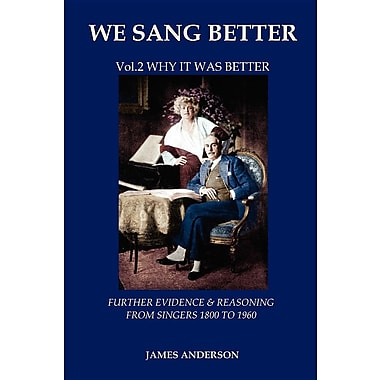 Vol.2 Why It Was Better (Second Vol.of 'we Sang Better')