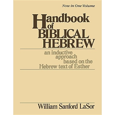 Handbook of Biblical Hebrew