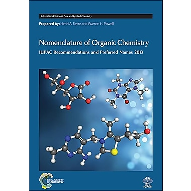 Nomenclature of Organic Chemistry: IUPAC Recommendations and Preferred Names 2013