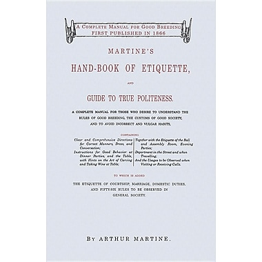 Martine's Handbook of Etiquette