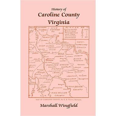 History of Caroline County, Virginia