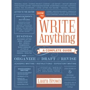 how to write anything