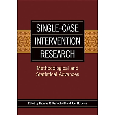 Single-Case Intervention Research: Methodological and Statistical Advances