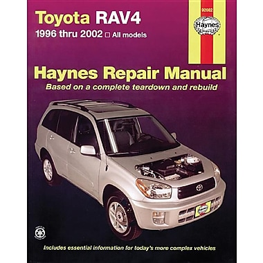 Toyota Rav4 1996 Thru 2012